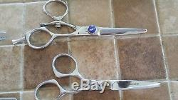 Professional hair stylist cutting shears centrix V2 vortex v2-500 thinning lot