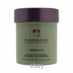 Pureology Nano Works Restorative Hair Treatment Mask 14.0oz New
