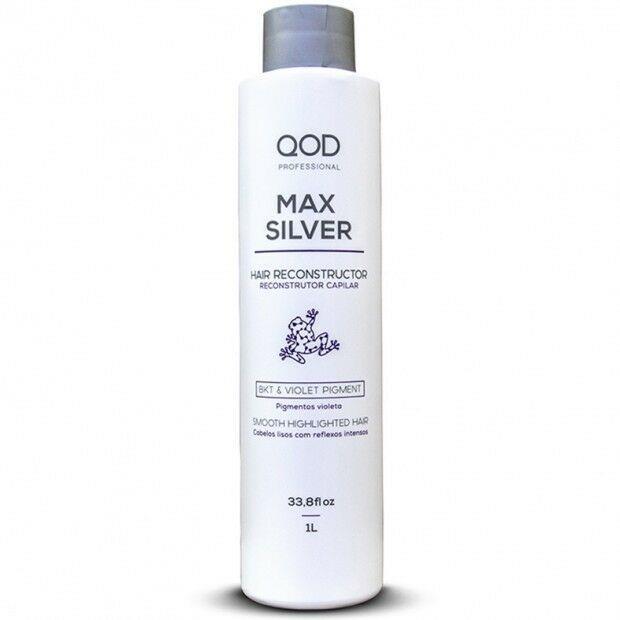 Qod Max Silver 1000ml Keratin Smoothing Treatment