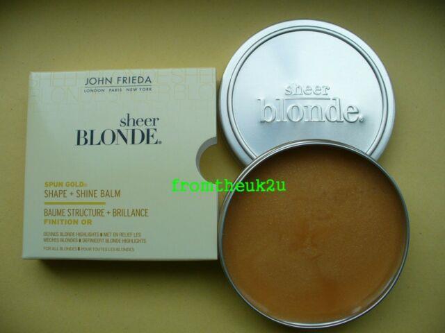 Rare John Frieda Sheer Blonde Spun Gold Shape & Shine Balm Discontinued Bnib