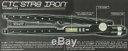 RUSK Digital ionic str8 CTC iron hair straightener 1 inch