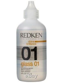 Redken 01 Glass 4 oz brown lettering Fast