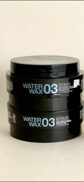 Redken Water Wax 03 1.7oz (2 Pack) Brand New