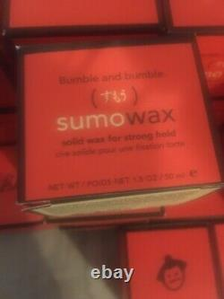 SALE Lot of 18 Bumble And Bumble Sumo Wax 50ml Boxes