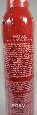 SAMY FAT HAIR 0 Cal Amplifying Hairspray Discontinued Extremely Rare NEW READ