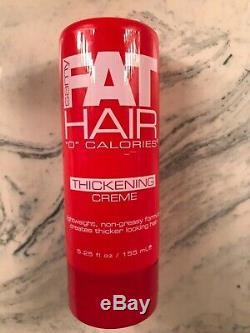 SAMY Fat Hair 0Calories Thickening Creme Full Sz 5.25 oz Discontinued VHTF