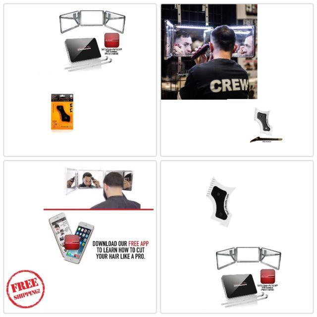 Self-cut System 2.0 Led Lighted Black Lambo 3 Way Mirror -free Educational App