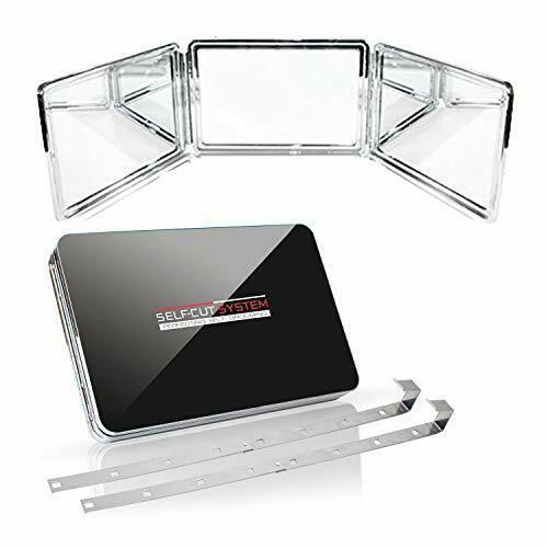 Self-cut System 2.0 Led Lighted Black Lambo 3 Way Mirror With Free Educ App