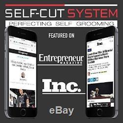 SELF-CUT SYSTEM Perfecting Self Grooming Black 3-Way Mirror Beard Hair Styling