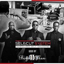 SELF-CUT SYSTEM Perfecting Self Grooming Black Lambo 3-Way Mirror