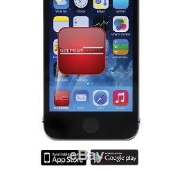 SELF-CUT SYSTEM Perfecting Self Grooming Black Lambo 3-Way Mirror + App