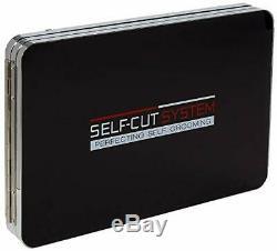 SELF-CUT SYSTEM Perfecting Self Grooming Black Lambo 3-Way Mirror. ORIGINAL