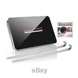 SELF-CUT SYSTEM Perfecting Self Grooming Black Lambo 3-Way Mirror with