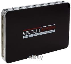 SELF-CUT SYSTEM Perfecting Self Grooming Black Lambo 3-Way Mirror with Fre