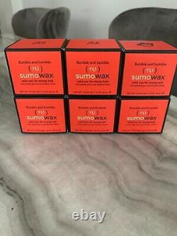 SIX (6x) Items of Bumble And Bumble Sumo Wax 50ml NIB Discontinued SUPER RARE