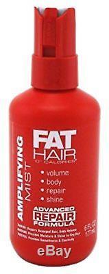Samy Fat Hair'0' Calories Amplifying Mist Spray 6oz (3 Pack) Set of 3