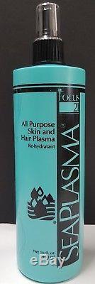 Sea Plasma All Purpose Skin & Hair Plasma Re-Hydratant by Focus 21 16 fl oz