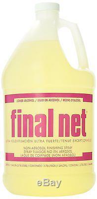 Seabreeze Final Net Ultra Hold Hair Spray Gallon 128 Ounce