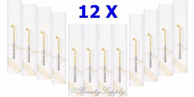 Sebastian Professional Shaper Plus Hairspray 10.6 Oz Pack Of 12