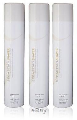 Sebastian Shaper Hairspray 3 Bottles (10.6oz each)
