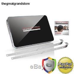 Self-Cut Grooming System Perfecting Hair Self Grooming 3-Way Mirror Black with DVD