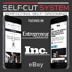Self Cut System Perfecting Self Grooming Black Lambo 3-Way Mirror Free Shipping