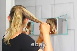 Self Style System Travel Size For Women (Teal) 3 Way Mirror With Adjustable He