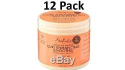 Shea Moisture Coconut & Hibiscus Curl Enhancing Smoothie Family Size 16 Oz x 12
