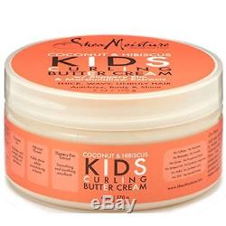 Shea Moisture Coconut & Hibiscus Kids Curling Butter Cream 6 Oz 12 Pack