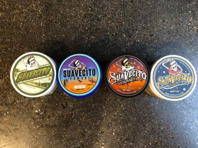 Suavecito Pomade Firme (strong) Hold 2017 Collection