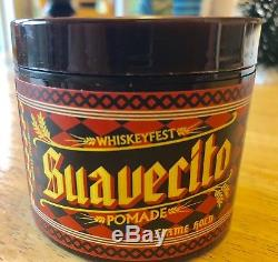 Suavecito Pomade Firme (strong) Hold Entire 2018 Seasonal Collection