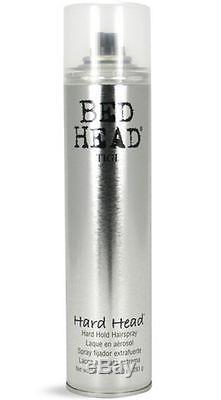 TIGI Bed Head Hard Head Hair Spray, 10 oz (Pack of 6)