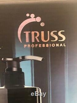 TRUSS FAST REPAIR Kit 3 Treatments SHAMPOO, LIPIDIC, INTENSIVE NUTRITION NEW