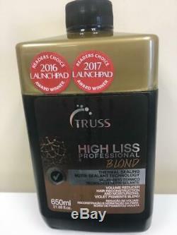 TRUSS HIGH LISS BLOND THERMAL SEALING 21.98oz