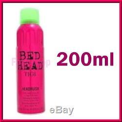 Tigi Bed Head Headrush Shine Adernaline Superfine Mist Hair Depth Color Gloss
