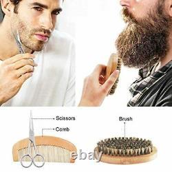 Tratamiento Kit Completo Para La Barba Cuidado De La Barba Y Crecimiento TodoEn1