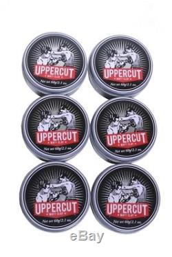 Uppercut Deluxe Pomade Matt Clay Medium Strong Hold 2.1 Oz 60g Lot of 48