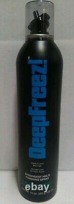 Vtg, New Image DeepFreez! PROFESSIONAL Hold Finishing SPRAY, Hair Spray 10 oz