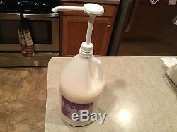 WEN Lavender Cleansing Conditioner 128 oz approx 75% full with pump
