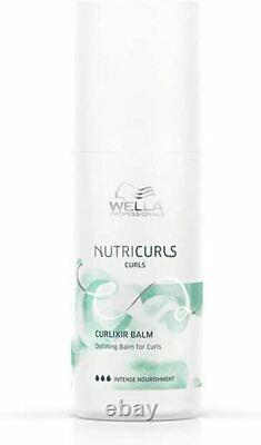Wella Nutricurls Curlixir Balm Defining Balm For Curls 5 oz new fresh