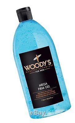 Woody's Mega Firm Gel for Men 33.8 Ounce
